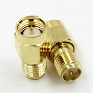 SMA Male Plug To RP-SMA Female Male Plug Straight RF Connector
