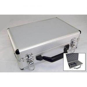 Aluminium case for transmitter