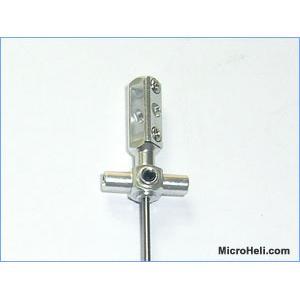 Blade mCX - InnerShaft w/ Aluminum Main Rotor Hub (SILVER)