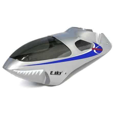 (EK1-0577) - Silver canopy cover for E-sky Lama V4