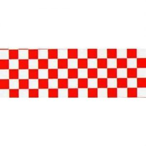 Top Flite Trim MonoKote Check Red/White