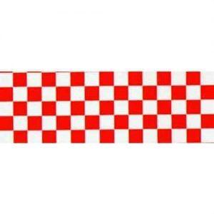 Top Flite Trim MonoKote Check Red/White