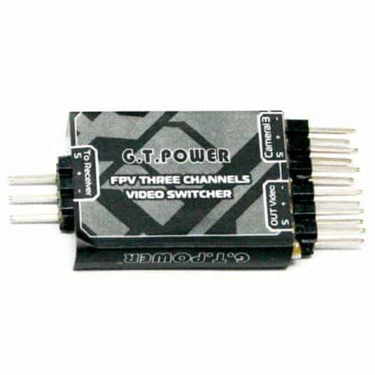 GT-Power FPV small 3 Channels Video switch