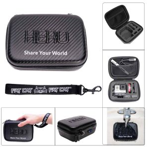 Carbon Fiber Anti-shock waterproof EVA Protective Case (7inch)