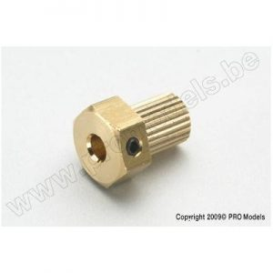 Coupling insert for ø4mm shaft (1pc)