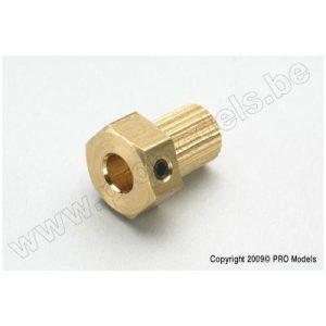 Coupling insert for ø5mm shaft (1pc)