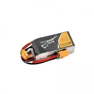 TATTU 1550mAh 14.8V 75C 4S1P Lipo Battery Pack