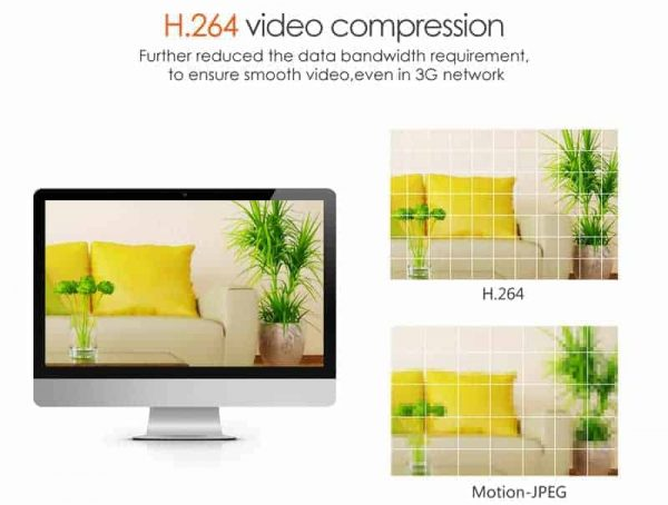 Vstarcam C7833WIP-X4 Αδιάβροχη PTZ IP κάμερα WiFi/Ethernet νυχτερινή λήψη HD 720p microSD