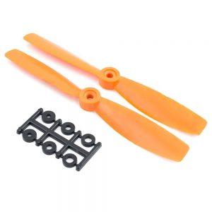 HQProp Bullnose CCW 6X4.5RO Orange (Pack Of 2)