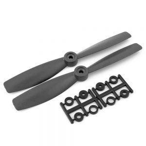 HQProp Bullnose CCW 6X4.5RB Black (Pack Of 2)