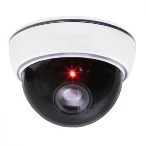 DUMMY CAM 23 Ψεύτικη κάμερα οροφής Ομοίωμα Dummy Camera με LED που αναβοσβήνει