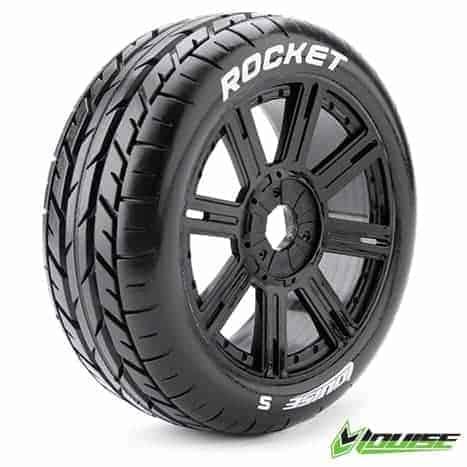 Tire & Wheel B-ROCKET 1/8 Buggy Sport (2)