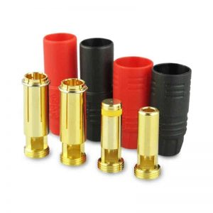 Gold connector  AS150 Ø7,0mm  anti-spark 1 set